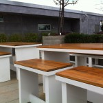 Barker Block benches