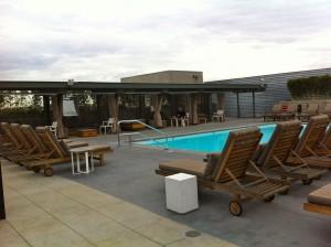 Barker Block Lofts pool DTLA