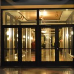 Eastern Columbia Lofts Entrance