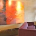 Evo Lofts Lobby couch
