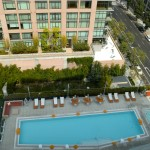 Evo Lofts Swimming Pool view from top