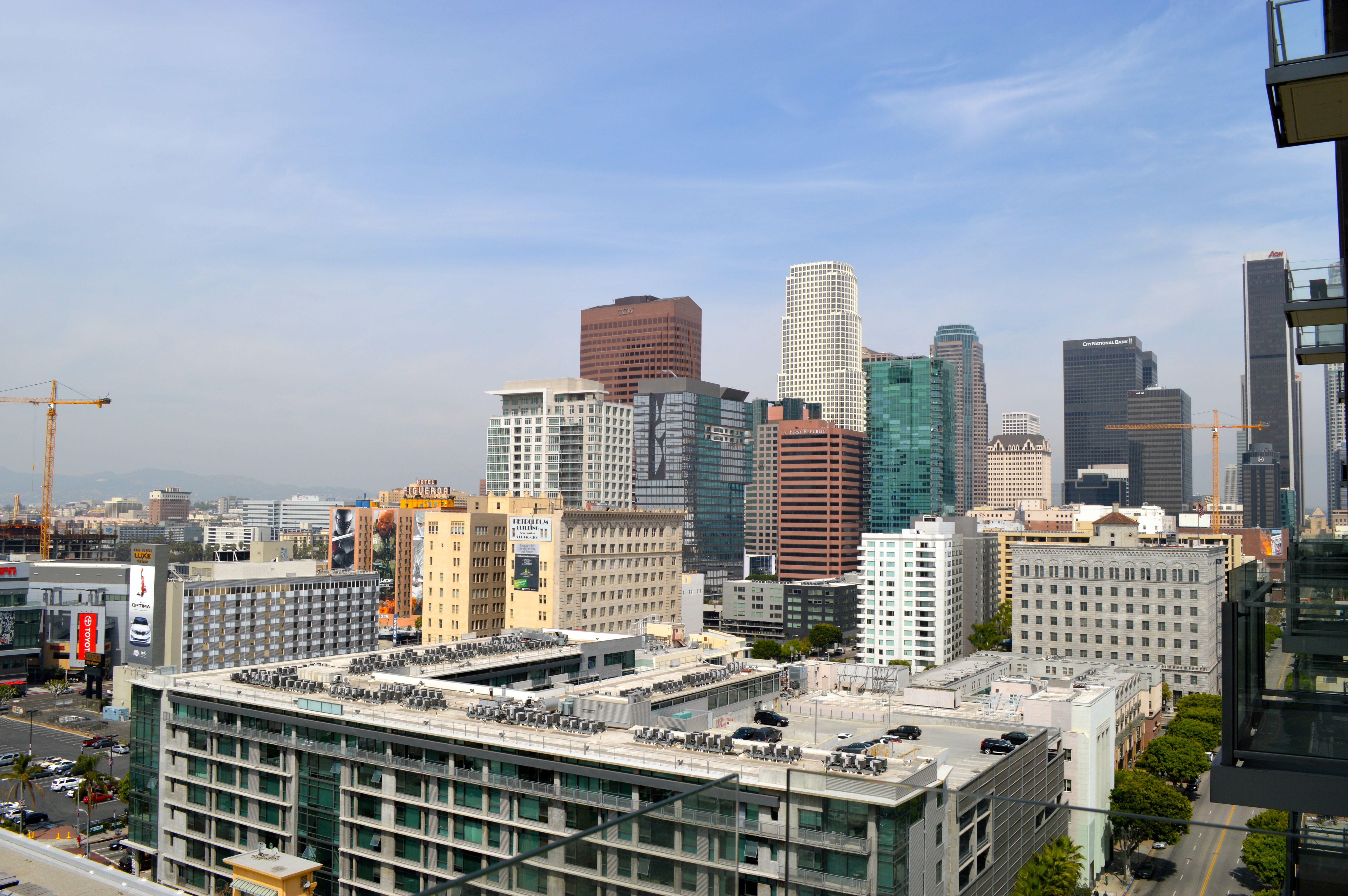 Downtown los angeles apartments with balcony home decor for La downtown condo for sale