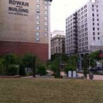 Rowan building and park