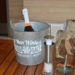 Wine at Sun Deck at Evo Lofts