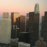 skyline view from 1100 Wilshire
