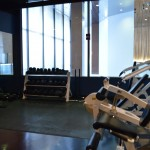 wilshire condo gym area