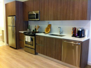 Eighth and Grand Model Kitchen