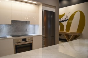 Ten50 Condos Beautiful Kitchen DTLA Downtown LA