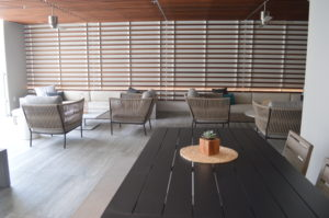 Wren Apartments Outdoor Lounge area (outside)